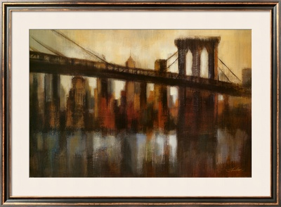 New York Bridge by Silvia Vassileva Pricing Limited Edition Print image