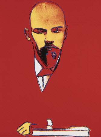 Red Lenin, C.1987 by Andy Warhol Pricing Limited Edition Print image