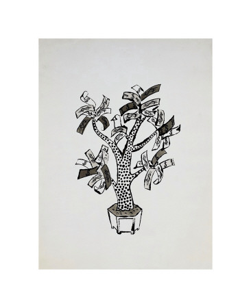 Money Tree, C.1957 by Andy Warhol Pricing Limited Edition Print image