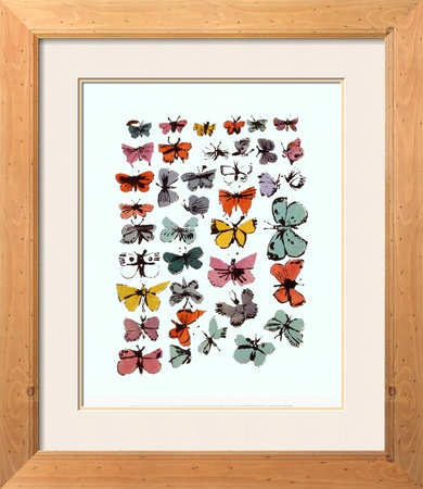 Butterflies, 1955 by Andy Warhol Pricing Limited Edition Print image