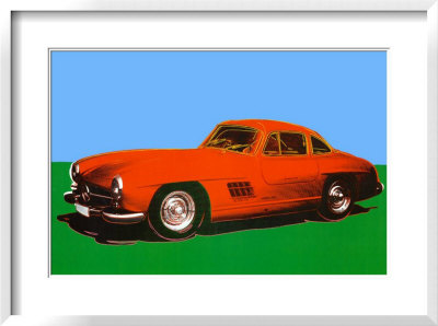 300 Sl Coupe, 1954 by Andy Warhol Pricing Limited Edition Print image