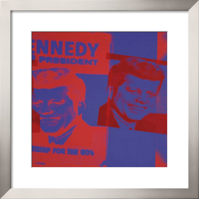 Flash: November 22, 1963, Jfk Assassination, C.1968 (Blue And Red) by Andy Warhol Pricing Limited Edition Print image