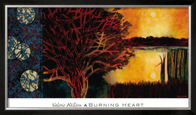 Burning Heart by Valerie Willson Pricing Limited Edition Print image