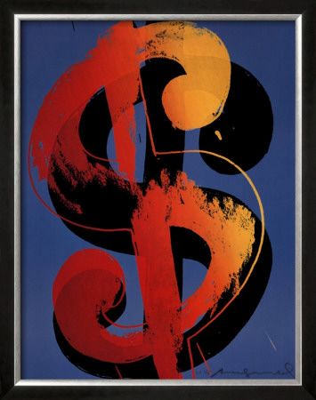 Dollar Sign by Andy Warhol Pricing Limited Edition Print image