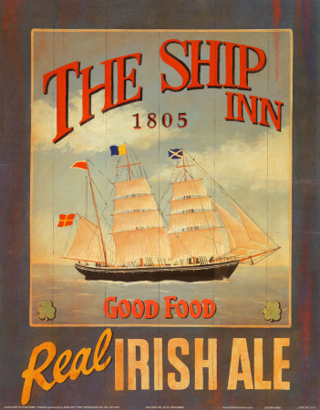 The Ship Inn by Martin Wiscombe Pricing Limited Edition Print image