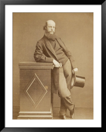 Laurence Oliphant English Writer by Watkins Pricing Limited Edition Print image