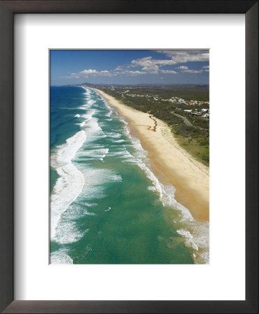 Sunrise Beach, Sunshine Coast, Queensland, Australia by David Wall Pricing Limited Edition Print image