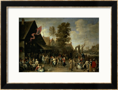 The Consecration Of A Village Church, Circa 1650 by David Teniers The Younger Pricing Limited Edition Print image