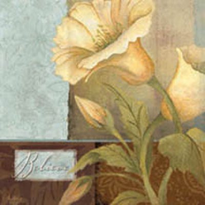 Inspirational Floral Iv by Mary Beth Zeitz Pricing Limited Edition Print image