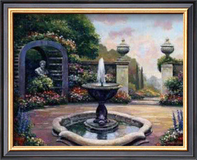 Garden Paths Iii by John Zaccheo Pricing Limited Edition Print image