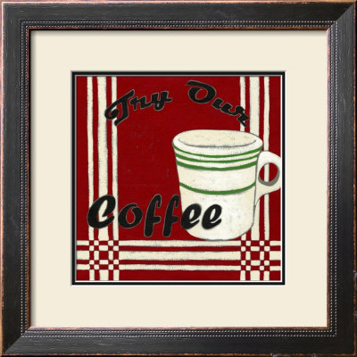 Try Our Coffee by Chariklia Zarris Pricing Limited Edition Print image