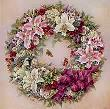 Wreath Of Lilies by Lena Liu Limited Edition Pricing Art Print