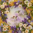Hummingbird Roses by Lena Liu Limited Edition Pricing Art Print