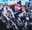 Rodeo Fever by Mal Luber Limited Edition Pricing Art Print