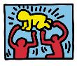 Pop Shop (Radiant Baby) by Keith Haring Limited Edition Pricing Art Print