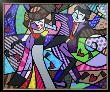Night Out by Romero Britto Limited Edition Pricing Art Print