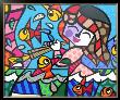 Neptune's Daughter by Romero Britto Limited Edition Pricing Art Print