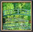 The Water Lilly Pond, Green Harmony by Claude Monet Limited Edition Pricing Art Print