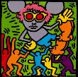 Andy Mouse, 1986 by Keith Haring Limited Edition Pricing Art Print