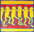 Untitled #3, 1988 by Keith Haring Limited Edition Pricing Art Print