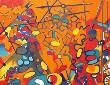 Les Barricades De Mai by Jacques Lagrange Limited Edition Pricing Art Print