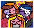 Family by Romero Britto Limited Edition Print