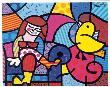 Only You Can Hear by Romero Britto Limited Edition Pricing Art Print